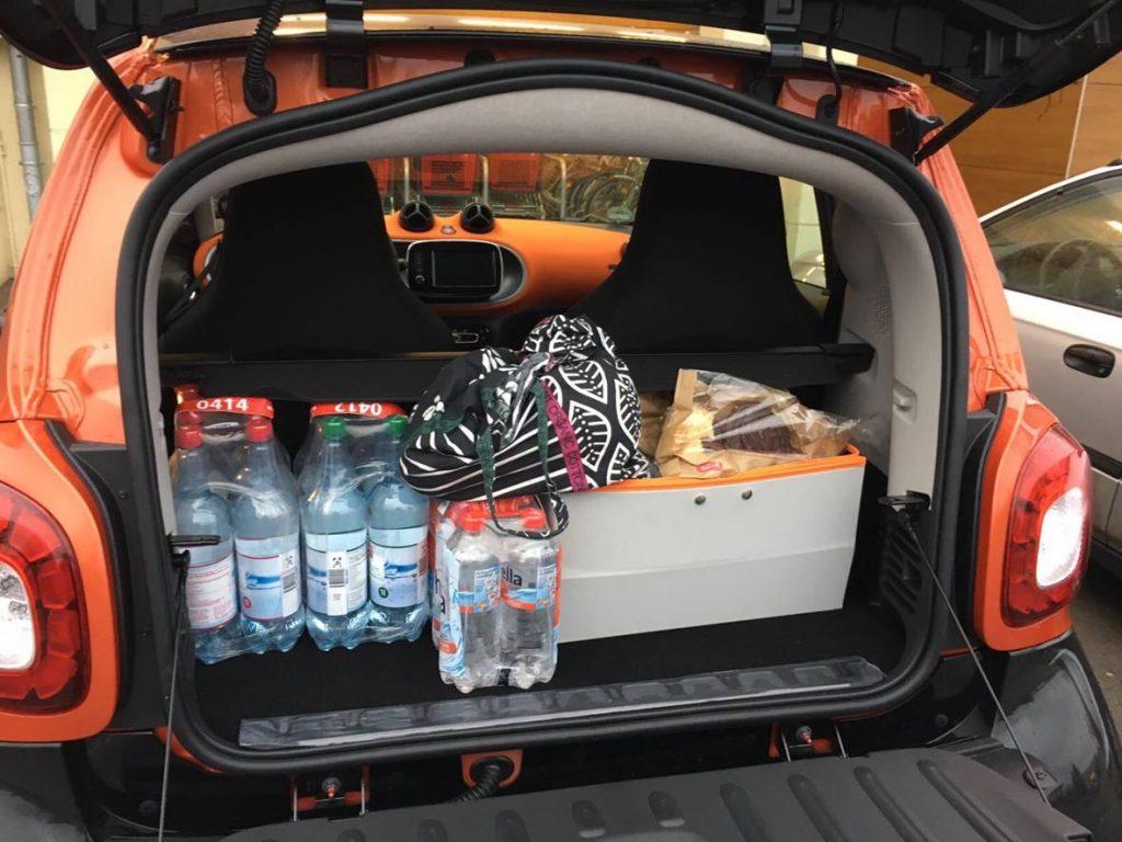 Kofferraum Smart 453