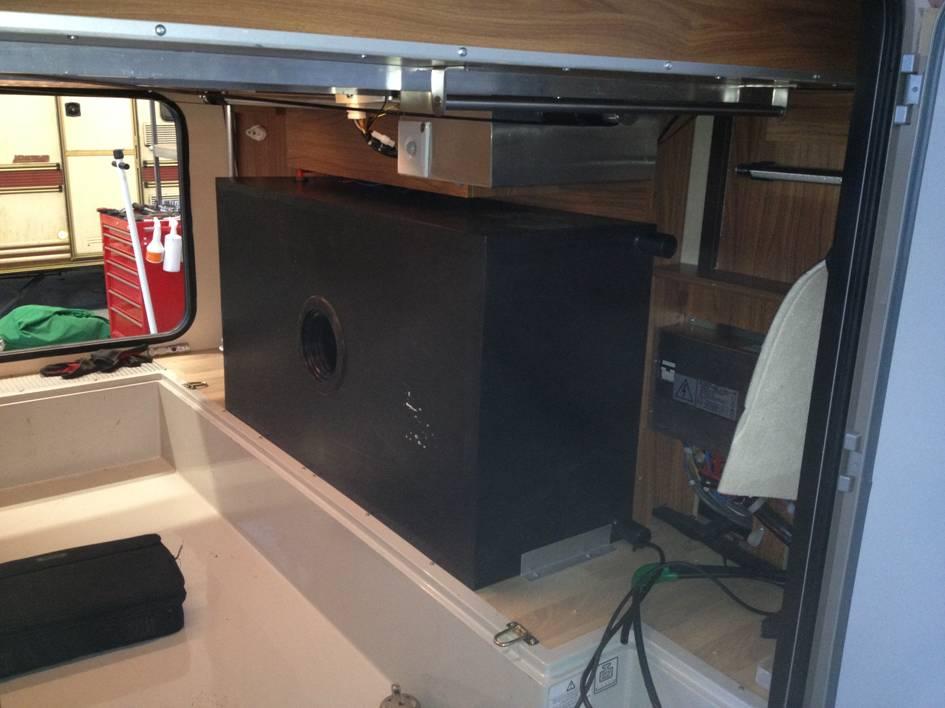 Wassertankwechsel im Wohnmobil