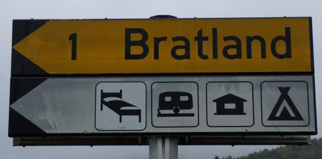Camping Bratland vor Bergen