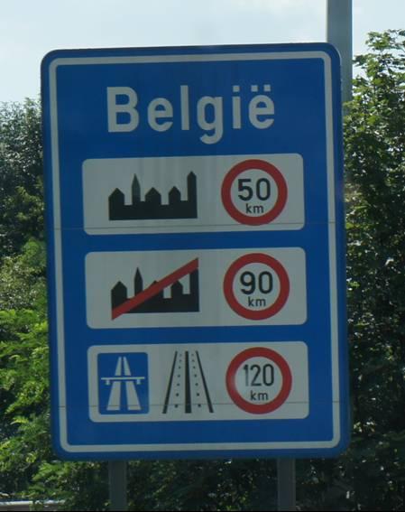 mit dem Wohnmobil in Belgien