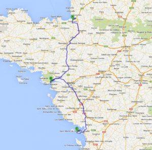 mit dem Wohnmobil in La Rochelle und St. Nazaire