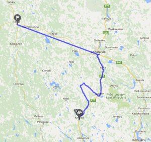 mit dem Reisemobil in Finnland