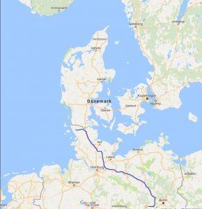 mit dem Wohnmobil durch Dänemark nach Südnorwegen