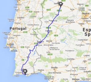 mit dem Wohnmobil durch Portugal