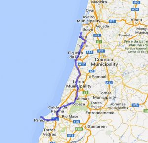 mit dem Reisemobil in Portugal