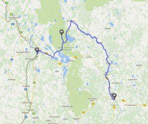nach Finnland mit dem Wohnmobil