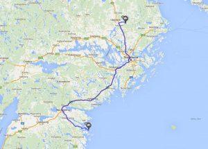 mit dem Reisemobil an der schwedischen Ostsee