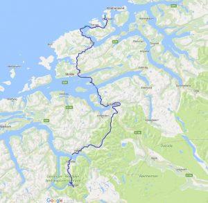mit dem Wohnmobil durch Norwegen, Atlantikstraße