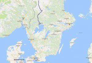 mit dem Wohnmobil in Schweden, Karlstad