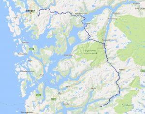 mit dem Reisemobil nach Bergen