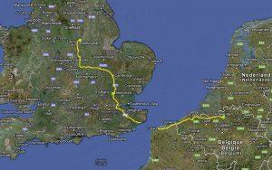 Mit dem Reisemobil durch England