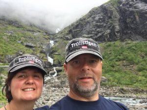 der Trollstiegen, Norwegen