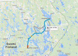 mit dem Reisemobil durch Finnland