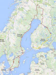 mit dem Wohnmobil nach Finnland - ein privater Reisebericht direkt aus dem Reisemobil