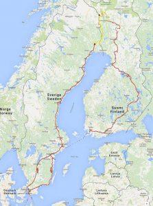 mit dem Wohnmobil nach Finnland und Schweden - ein privater Reisebericht direkt aus dem Reisemobil