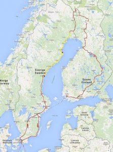 mit dem Wohnmobil nach Schweden - ein privater Reisebericht direkt aus dem Reisemobil