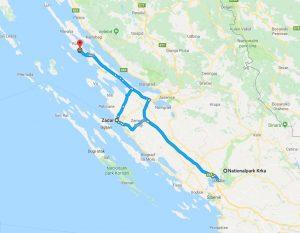 mit dem Smart in Kroatien