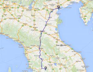 mit dem Reisemobil in Italien unterwegs