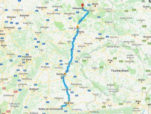 mit dem Reisemobil durch Deutschland