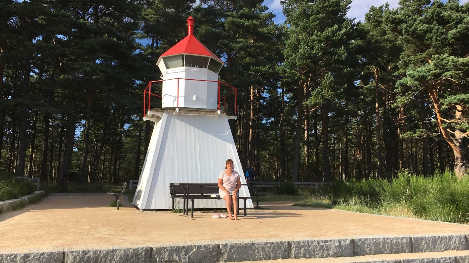 Camping bei Kristiansand vor der Fähre
