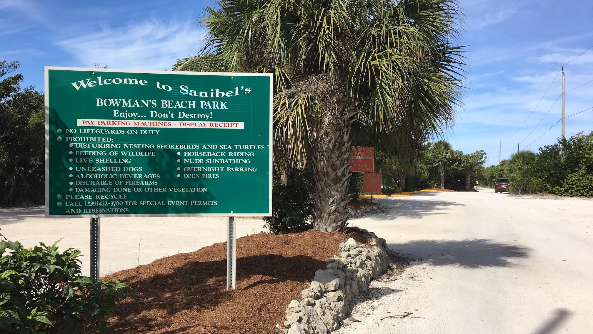 Sanibels Bowmans Beach Park